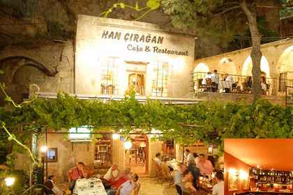 Han Ciragan Cafe and Restaurant, Urgup, Cappadocia