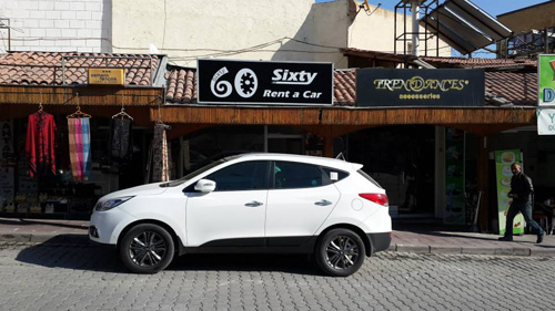 Sixty Rent A car Turkey Car Rental