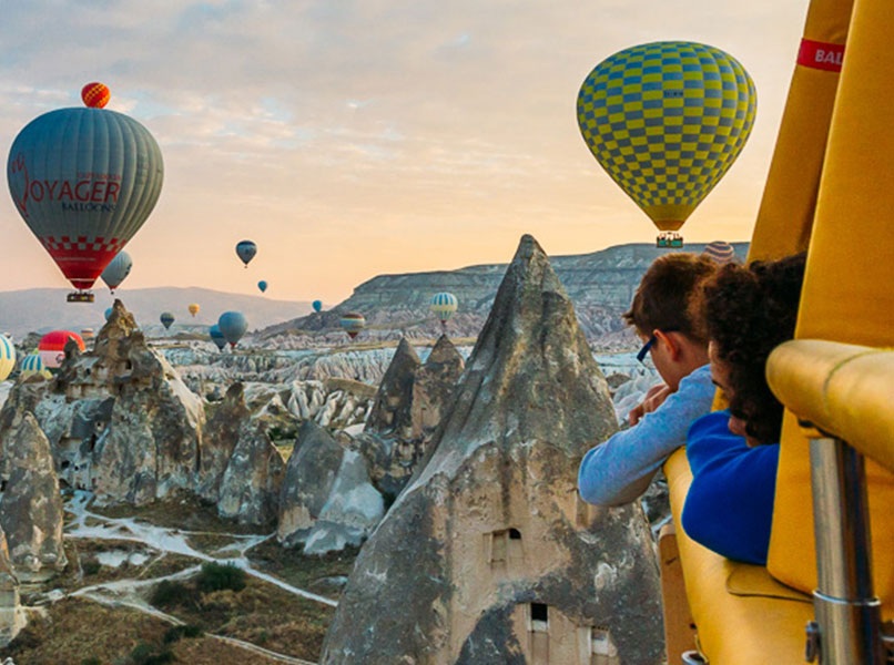 Guided tours in Cappadocia